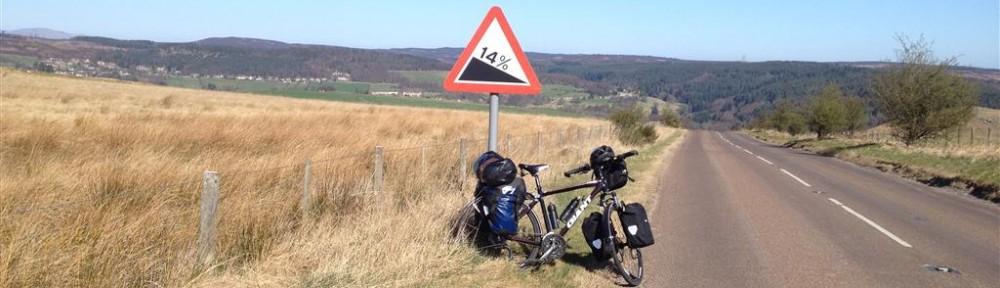 Geordie on a Bike